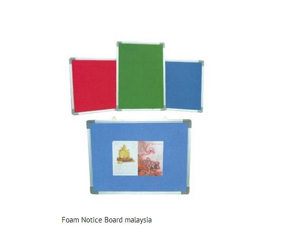 foam notice board