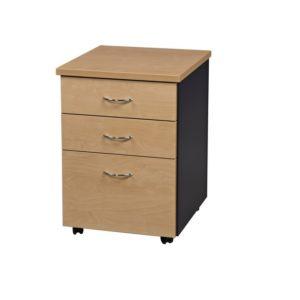 office mobile pedestal 2 drawer 1 filling office furniture selangor kuala lumpur