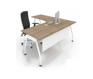 office L shape wring table office furniture office table desk selangor kalng velley