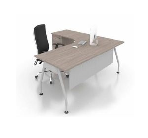 office wring table with 4 drawer pedestal office furniture office table desk selangor petaling jaya