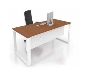 office standard wring table with metal leg office furniture office table desk selangor petaling jaya