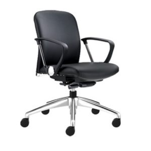 office executive lowback chair office furniture office exclusive chair selangor shah alam