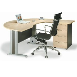 office exclusive writing table with pedestal office furniture office table desk selangor pj