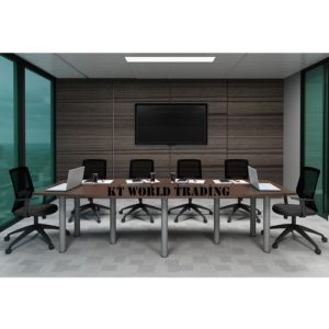 QBC 30-ID BOAT-SHAPE CONFERENCE TABLE (INCLUDED YC400 2 UNIT) OFFICE FURNITURE MALAYSIA SELANGOR SHAH ALAM KUALA LUMPUR KLANG VALLEY