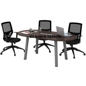 QOC 18-SET OVAL CONFERENCE TABLE (INCLUDED YC400 1 UNIT) OFFICE FURNITURE MALAYSIA SELANGOR SHAH ALAM KUALA LUMPUR KLANG VALLEY