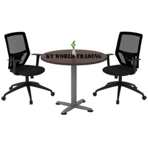 QR 90-SET ROUND CONFERENCE TABLE OFFICE FURNITURE MALAYSIA SELANGOR SHAH ALAM KUALA LUMPUR KLANG VALLEY