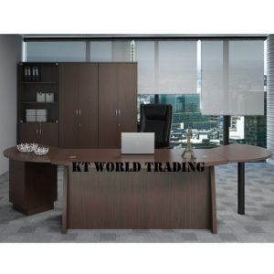 QX 1800-ID DIRECTOR TABLE + CABINET OFFICE FURNITURE MALAYSIA SELANGOR SHAH ALAM KUALA LUMPUR KLANG VALLEY