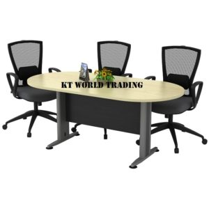 TOE 18-SET OVAL CONFERENCE TABLE OFFICE FURNITURE MALAYSIA SELANGOR SHAH ALAM KUALA LUMPUR KLANG VALLEY