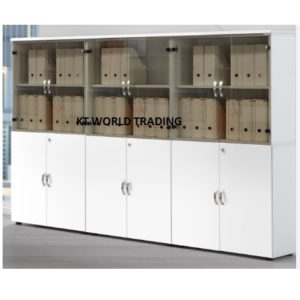 cabinet configuration office furniture cabinet bookcase white color selangor kuala lumpur