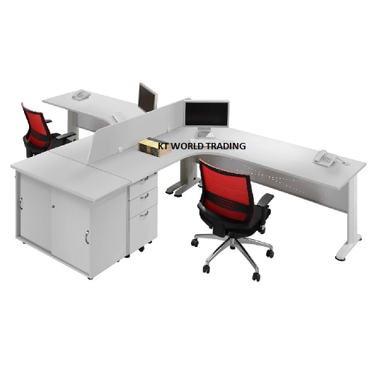 office writing table office table desk cabinet office furniture selangor klang velley  sc 1 st  Office Gap Supply in Malaysia & Executive Table Set - Modern design in malaysia