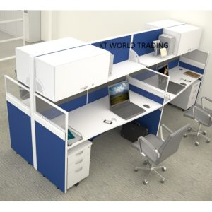 60&30mm BLOCK SYSTEM - COMBINATION POLE- office partition workstation office furniture malaysia selangor petaling jaya kuala lumpur