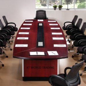 BOAT SHAPE CONFERENCE TABLE D288 office furniture malaysia selangor petaling jaya klang velley shah alam