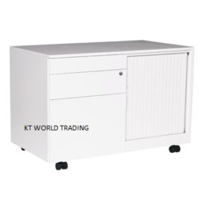 CADDY WITH ABS TAMBOUR DOOR - LEFT office steel furniture malaysia selangor shah alam kuala lumpur klang velley