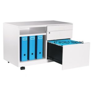 CADDY WITH OPEN SHELF - RIGHT office steel furniture malaysia selangor kuala lumpur shah alam klang velley