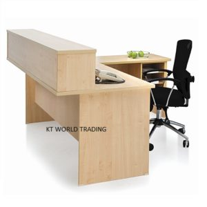 EX-RECEPTION COUNTER reception desks office furniture malaysia selangor klang velley shah alam kuala lumpur