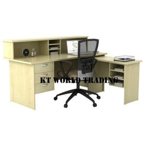 RECEPTION WITH SIDE TABLE OFFICE FURNITURE MALAYSIA SELANGOR SHAH ALAM KUALA LUMPUR KLANG VALLEY