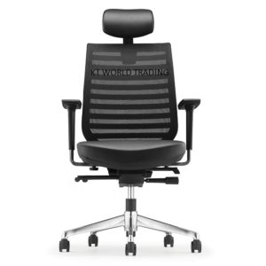 ZN8210L_14D98_02 - PRESIDENTIAL HIGH BACK chair  LEATHER office executive mesh chair