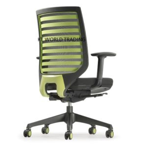 ZN8211N_24D36_Green PRESIDENTIAL MEDIUM BACK - FABRIC office executive mesh chair
