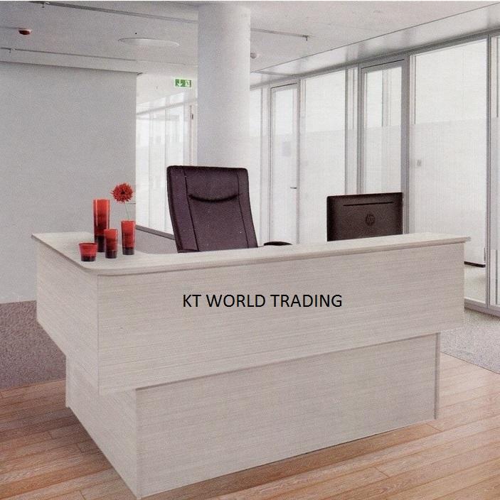 Reception counter reception desks modern design for Cheap modern furniture kuala lumpur