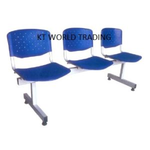 3 SEATER PLASTIC LINK CHAIR office furniture malaysia