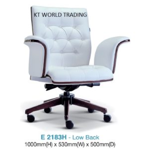 E2183H DIRECTOR LOWBACK CHAIR presidential chair ceo chair office furniture malaysia selangor kuala lumpur petaling jaya klang valley