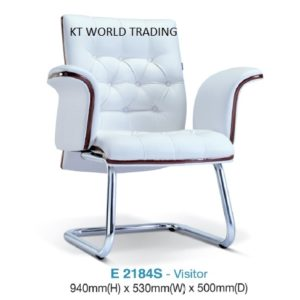 E2184S VISITOR/conference CHAIR presidential chair ceo chair office furniture malaysia selangor kuala lumpur petaling jaya klang valley