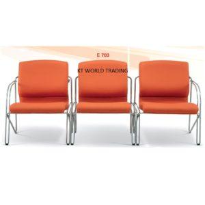 KT 703 3 SEATER LINK CHAIR executive link chair office furniture malaysia selangor kuala lumpur klang valley petaling jaya