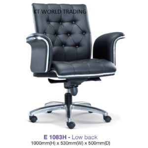 KT1083H DIRECTOR LOWBACK CHAIR presidential chair ceo chair office furniture malaysia selangor kuala lumpur petaling jaya klang valley