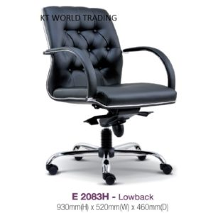 KT2083H PRESIDENT LOWBACK CHAIR director ceo chair office furniture malaysia selangor kuala lumpur petaling jaya klang valley