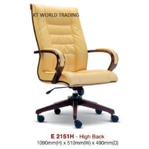 KT2151H PRESIDENT HIGHBACK CHAIR presidential chair ceo chair office furniture malaysia selangor kuala lumpur petaling jaya klang valley