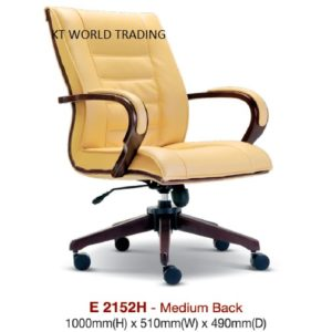 KT2152H PRESIDENT MEDIUMBACK CHAIR presidential chair ceo chair office furniture malaysia selangor kuala lumpur petaling jaya klang valley