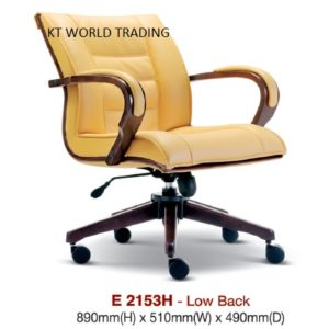 KT2153H PRESIDENT LOWBACK CHAIR presidential chair ceo chair office furniture malaysia selangor kuala lumpur petaling jaya klang valley