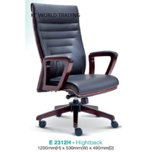 KT2312H PRESIDENT HIGHTBACK CHAIR presidential chair ceo chair office furniture malaysia selangor kuala lumpur petaling jaya klang valley