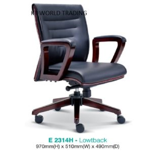 KT2314H PRESIDENT LOWBACK CHAIR presidential chair ceo chair office furniture malaysia selangor kuala lumpur petaling jaya klang valley