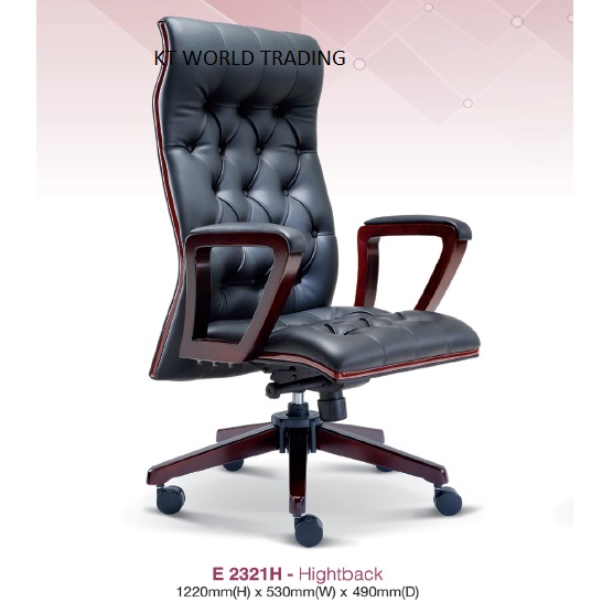 PRESIDENT HIGHTBACK CHAIR Presidential Chair Ceo Chair Office Furniture  Kuala Lumpur Petaling Jaya Klang Valley