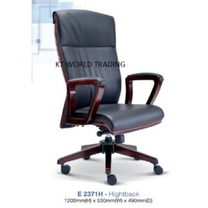 KT2371H- PRESIDENT HIGHBACK CHAIR presidential chair ceo chair office furniture malaysia selangor kuala lumpur petaling jaya klang valley