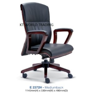 KT2372H- PRESIDENT MEDIUMBACK CHAIR presidential chair ceo chair office furniture malaysia selangor kuala lumpur petaling jaya klang valley
