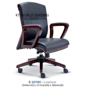 KT2373H- PRESIDENT LOWBACK CHAIR presidential chair ceo chair office furniture malaysia selangor kuala lumpur petaling jaya klang valley