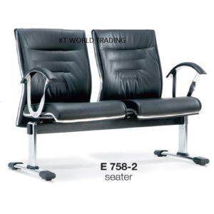 KT758-2 SEATER LINK CHAIR office furniture malaysia selangor kuala lumpur klang valley petaling jaya