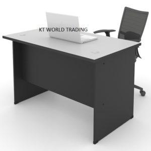 kt 127C office table writing table office furniture malaysia selangor kuala lumpur shah alam klang valley