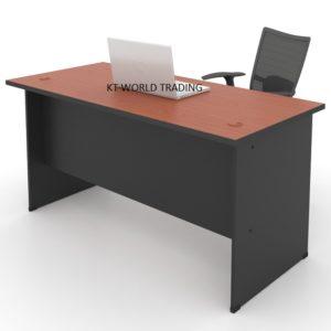 kt 157C  office table writing table office furniture malaysia selangor kuala lumpur shah alam klang valley
