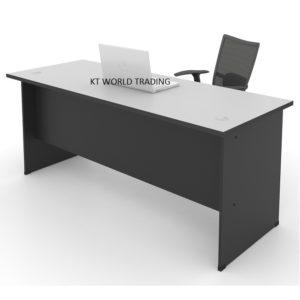 kt 187C office table writing table office furniture malaysia selangor kuala lumpur shah alam klang valley