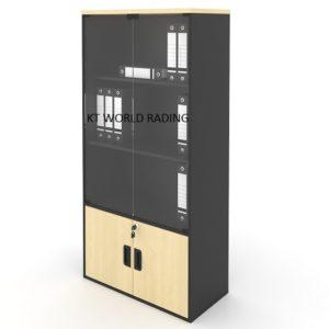 GB 741.jpg BOOK SHELF CW GLASS DOOR office-furniture-malaysia-selangor-klang-valley-shaha-alam-petaling-jaya