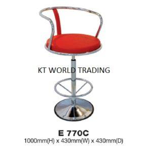 KT 770C BAR STOOL - stool chair office furniture malaysia selangor kuala lumpur klang valley petaling jaya