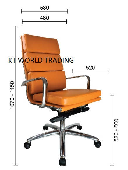 executive-highback-chair-ktas-01 office furniture malaysia selangor kuala lumpur shah alam klang valley
