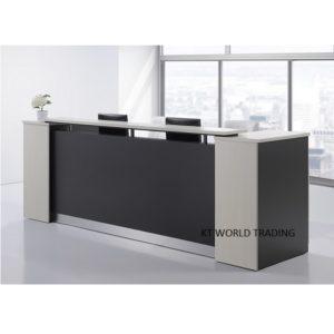 S11 (1) RECEPTION COUNTER modern design reception desk office furniture malaysia selangor kuala lumpur klang valley petaling jaya