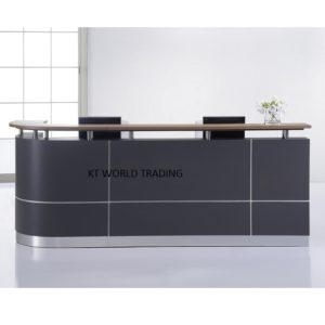 S55 (1) RECEPTION COUNTER  modern design reception desk office furniture malaysia selangor kuala lumpur klang valley petaling jaya