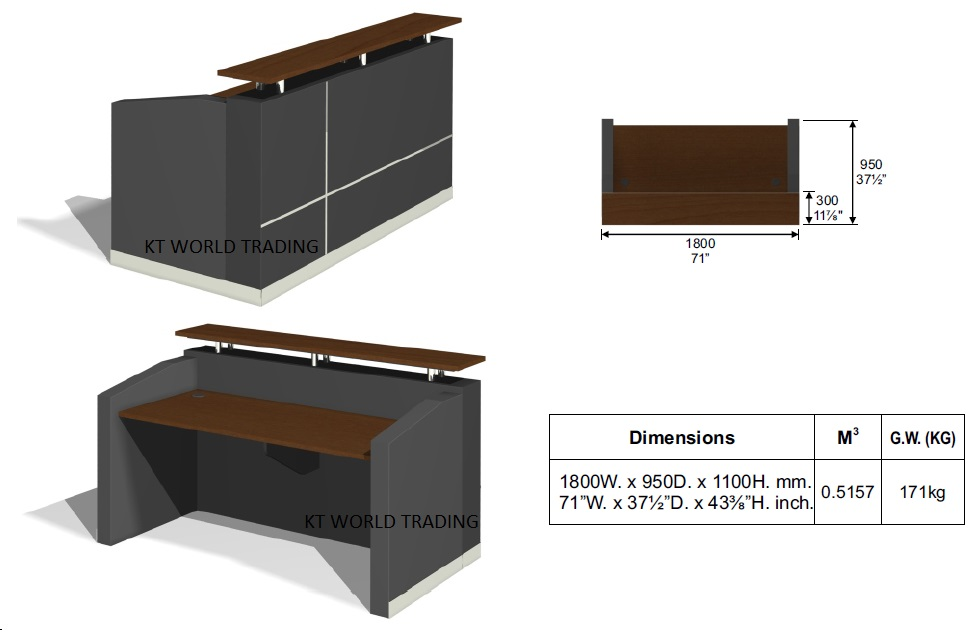 as well Office Counter Table. on malaysia furniture reception desk