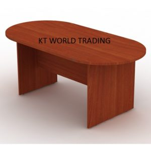 oval-conference-table-1800x900-with-cherry-color office furniture malaysia selangor shah alam klang valley kuala lumpur