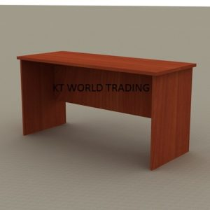 rectangular-table-with-full-cherry-color office table office furniture malaysia selangor shah alam kuala lumpur